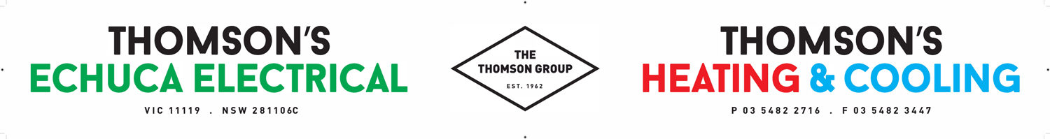 Thomson's Echuca Electrical – 27 Hovell St, Echuca VIC 3564